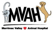 Merrimac Valley Animal Hospital logo
