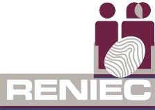 logotipo de la empresa RENIEC