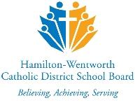 Hamilton-Wentworth Catholic District School Board logo
