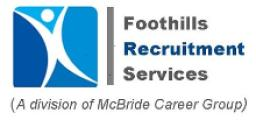 Foothills Recruitment Services