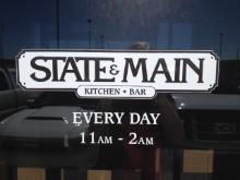 State & Main Kitchen and Bar logo
