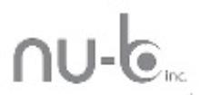 Logo Nu-B Inc.