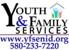 Youth and Family Services, NCO logo