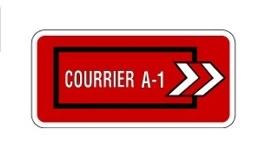 Logo Courrier A-1 inc.