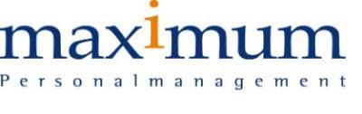 Maximum Personalmanagement GmbH-Logo