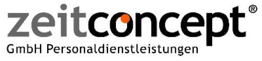 zeitconcept GmbH Personaldienstleistungen-Logo