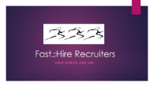 Fast2Hire Recruiters logo
