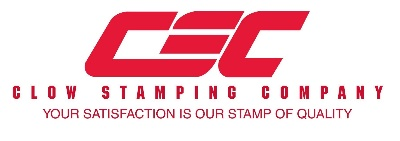 Clow Stamping Company logo