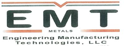 Engineering Manufacturing Technologies, LLC