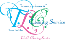T.L.C. CLEANING SERVICE logo