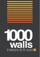 One Thousand Walls logo