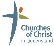 Churches of Christ in Queensland logo