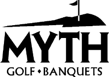 Myth Golf and Banquets logo