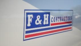 F&H Contractors logo