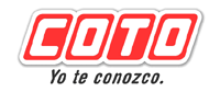 logotipo de la empresa Supermercados COTO