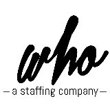 Who- a staffing company