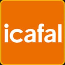 logotipo de la empresa ICAFAL