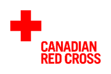 Logo Croix Rouge Canadienne