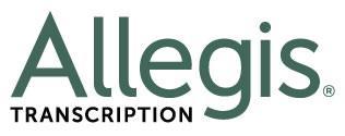 Allegis Transcription - go to company page