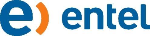 logotipo de la empresa Entel