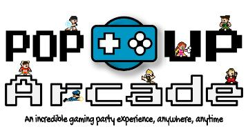 Pop Up Arcade logo