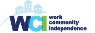 WCI - Work, Community, Independence