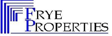 Frye Properties, Inc logo