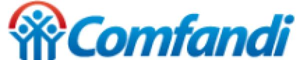 logotipo de la empresa Comfandi