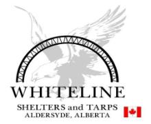 Whiteline Shelters & Tarps logo