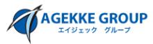 株式会社エイジェックのロゴ