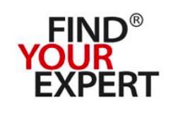 FIND YOUR EXPERT – Internationales Personalrecruiting-Logo