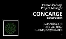 CONCARGE construction