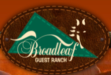 Broadleaf Guest Ranch logo