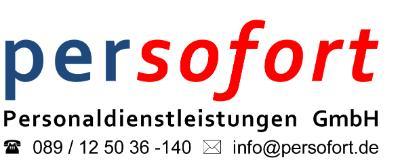 persofort Personaldienstleistungen GmbH-Logo