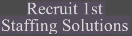 Recruit1st logo