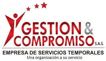 logotipo de la empresa GESTIÓN & COMPROMISO SAS