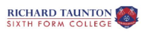 Richard Taunton Sixth Form College logo