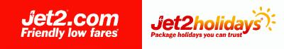 Jet2.com and Jet2holidays'in logosu