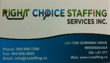Right Choice Staffing Services Inc.