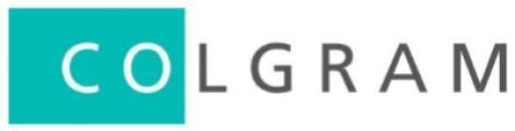 logotipo de la empresa COLGRAM S.A