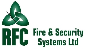 RFC Fire and security systems logo
