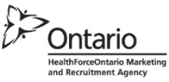 HealthForceOntario Marketing and Recruitment Agency logo