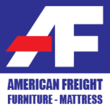 American Freight Furniture and Mattress logo