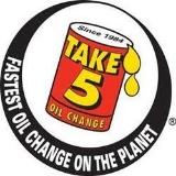Take 5 Oil Change logo