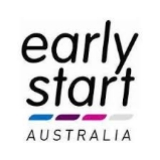 Early Start Australia logo