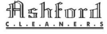 Ashford Cleaners logo