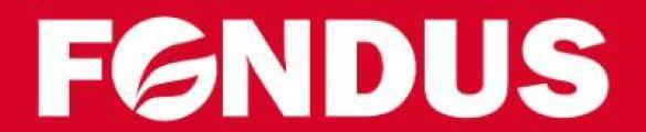 logotipo de la empresa Fondus