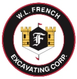W. L. French Excavating Corporation logo