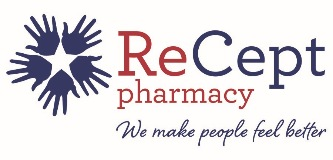 ReCept Pharmacy logo