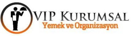 VIP Kurumsal Yemek ve Organizasyon'in logosu